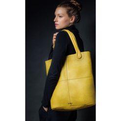 Torebka skórzana żółta Magnifica marki Bolsa. Żółte torebki klasyczne damskie marki Pakamera, ze skóry. Za 566,00 zł.