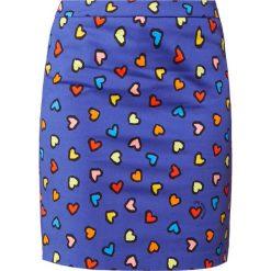 Odzież damska: Love Moschino Spódnica ołówkowa  blue