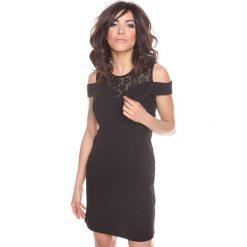 """Sukienki hiszpanki: Sukienka """"Shir"""" w kolorze czarnym"""