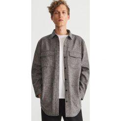 Koszula oversize - Szary. Szare koszule męskie marki House, l, z bawełny. Za 169,99 zł.