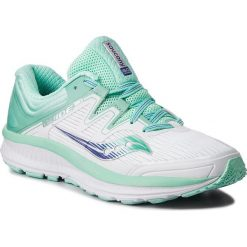 Buty SAUCONY - Guide Iso S10415-35 Wht/Aqu. Białe buty do biegania damskie Saucony, z gumy. W wyprzedaży za 369,00 zł.