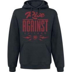 Bluzy męskie: Rise Against Type Bluza z kapturem czarny