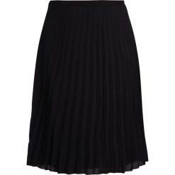 Spódniczki trapezowe: City Chic SHEER PLEAT Spódnica trapezowa black