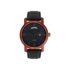 Drewniany zegarek męski Knight 43mm N084. Czarne zegarki męskie Neatbrand. Za 599,00 zł.
