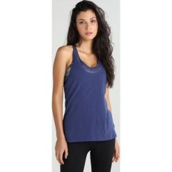 GAP TWIST BACK TANK Koszulka sportowa dutch blue. Niebieskie t-shirty damskie GAP, l, z bawełny. Za 129,00 zł.
