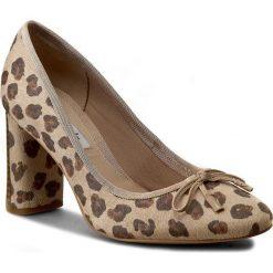 Creepersy damskie: Półbuty CLARKS - Idamarie Faye 261243704 Leopard Prt Comb
