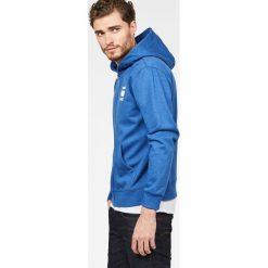 G-Star Raw - Bluza. Brązowe bluzy męskie rozpinane marki SOLOGNAC, m, z elastanu. Za 439,90 zł.