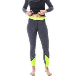 Legginsy sportowe damskie: JOBE Legginsy dwustronne neoprenowe Jobe Reversible 2w1 szaro-zielone r. XL