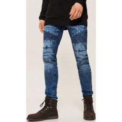 Jeansy skinny - Niebieski. Niebieskie jeansy męskie skinny marki House. Za 139,99 zł.