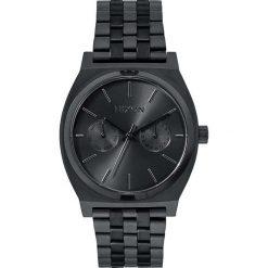 Zegarki męskie: Zegarek męski All Black Nixon Time Teller Deluxe A9221001