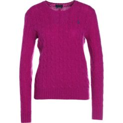 Swetry klasyczne damskie: Polo Ralph Lauren JULIANNA Sweter vibrant pink heat