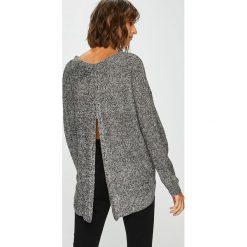 Answear - Sweter. Szare swetry oversize damskie marki ANSWEAR, l, z dzianiny. W wyprzedaży za 79,90 zł.