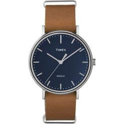 Timex - Zegarek TW2P97800. Czarne zegarki męskie marki Fossil, szklane. W wyprzedaży za 279,90 zł.