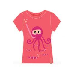 T-shirty chłopięce: AQUAWAVE Koszulka dziecięca OCTUS KIDS CORAL OCTOPUS PRINT koralowa r. 122