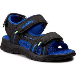 Sandały WALKY - CP69-6007 Czarny. Czarne sandały męskie skórzane marki Walky. W wyprzedaży za 59,99 zł.