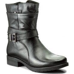 Botki LASOCKI - WI16-ALBA-01 Czarny. Czarne botki damskie na zamek Lasocki, ze skóry. Za 229,99 zł.