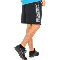 Odzież sportowa męska: Under Armour Spodenki męskie WOVEN GRAPHIC WORDMARK SHORT czarne r. L (1320203-001)