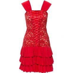 Sukienki: Sukienka wieczorowa bonprix czerwony