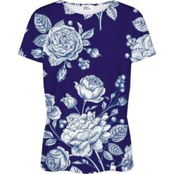 Colour Pleasure Koszulka damska CP-030 200 granatowa r. XXXL/XXXXL. Niebieskie bluzki damskie Colour pleasure. Za 70,35 zł.