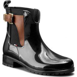 Buty zimowe damskie: Kalosze TOMMY HILFIGER – Oxley 2Z-1 FW56821442 Black 990