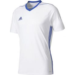 T-shirty chłopięce: Adidas Koszulka juniorska Tiro 17 biały r. 128 cm (BK5434)
