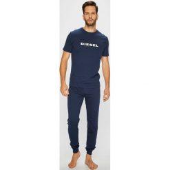 Diesel - Piżama. Szare piżamy męskie Diesel, m, z nadrukiem, z bawełny. Za 329,90 zł.