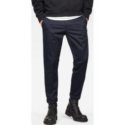 G-Star Raw - Spodnie Bronson. Czarne rurki męskie marki G-Star RAW, z bawełny. W wyprzedaży za 269,90 zł.