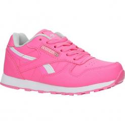 Różowe buty sportowe sznurowane Casu FA353. Czerwone buciki niemowlęce Casu, na sznurówki. Za 59,99 zł.