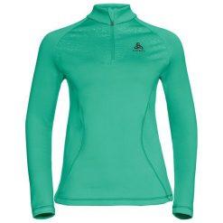Bluzy sportowe damskie: Odlo Bluza tech. Odlo Midlayer 1/2 zip GLADE                   – 528221 – 528221/40193/S