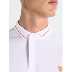 Koszulki sportowe męskie: KSWISS BACKCOURT  Koszulka sportowa white/rose