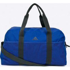 Adidas Performance - Torba. Niebieskie torebki klasyczne damskie adidas Performance, w paski, z materiału. W wyprzedaży za 149,90 zł.