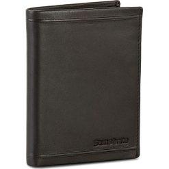 Duży Portfel Męski SAMSONITE - 001-01460-0266-1 Black. Czarne portfele męskie marki Samsonite, ze skóry. W wyprzedaży za 159,00 zł.