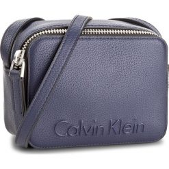 Listonoszki damskie: Torebka CALVIN KLEIN BLACK LABEL – Edge Small Crossbody K60K604004  430