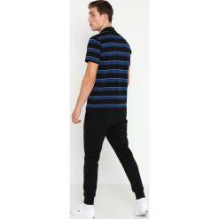 Lacoste Sport STRIPE Koszulka polo black/inkwell/white. Czarne koszulki polo Lacoste Sport, m, z bawełny. Za 359,00 zł.