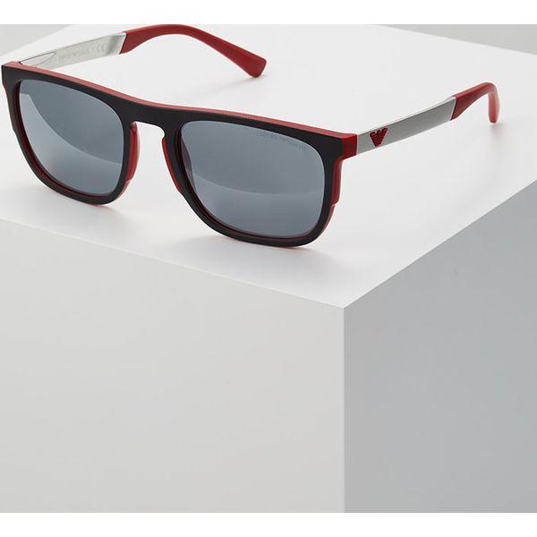 3ffe52add830 Emporio Armani Okulary przeciwsłoneczne red - Czerwone okulary  przeciwsłoneczne męskie Emporio Armani. Za 609