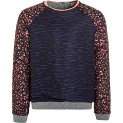 IKKS COULEUR BLOCK Bluza gris chiné. Czarne bluzy chłopięce marki IKKS, z bawełny. W wyprzedaży za 231,20 zł.