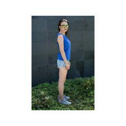 Topy damskie: Top Dziewczyna Surfera kobaltowy