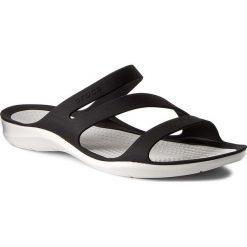 Chodaki damskie: Klapki CROCS - Swiftwater Sandal W 203998 Black/White
