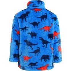 Hatley SILHOUETTE DINO FUZZY Kurtka z polaru silhouette dino. Niebieskie kurtki chłopięce przeciwdeszczowe Hatley, z materiału. W wyprzedaży za 135,85 zł.