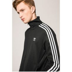 Adidas Originals - Bluza. Szare bejsbolówki męskie adidas Originals, l, z bawełny, bez kaptura. W wyprzedaży za 279,90 zł.