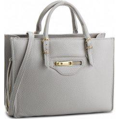 Torebka CREOLE - K10533 Szary. Szare torebki klasyczne damskie Creole, ze skóry, duże. W wyprzedaży za 209,00 zł.
