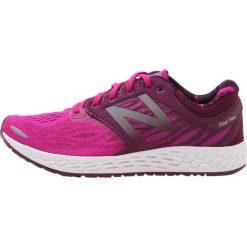 Buty sportowe damskie: New Balance FRESH FOAM V3 Obuwie do biegania treningowe poisonberry/dark mulberry/white
