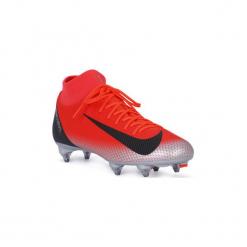 Buty do piłki nożnej Nike  SUPERFLY 6 ACADEMY CR7 SG. Czerwone buty sportowe męskie Nike, do piłki nożnej. Za 421,33 zł.