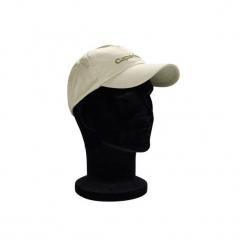 Czapka wędkarska z daszkiem 100. Brązowe czapki z daszkiem damskie marki CAPERLAN, z bawełny. W wyprzedaży za 14,99 zł.