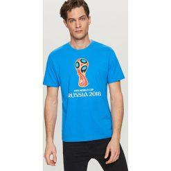 T-shirty męskie: T-shirt fifa russia 2018 - Niebieski