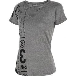Odzież damska: koszulka sportowa damska REEBOK ONE SERIES TRIBLEND V NECK TEE / AA9262