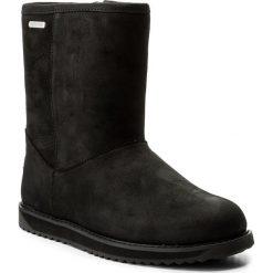 Buty EMU AUSTRALIA - Paterson Classic Leather Lo W11620 Black/Noir. Czarne buty zimowe damskie marki EMU Australia, ze skóry, na niskim obcasie. W wyprzedaży za 479,00 zł.