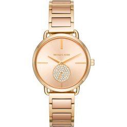 Zegarek MICHAEL KORS - Portia MK3706 Gold/Rose Gold/Gold. Żółte zegarki damskie Michael Kors. W wyprzedaży za 809,00 zł.