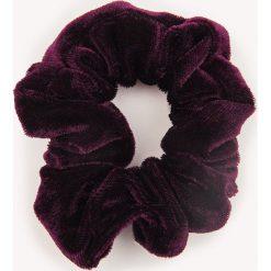Ozdoby do włosów: NA-KD Accessories Aksamitna gumka owijka – Purple