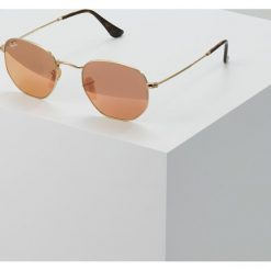 RayBan Okulary przeciwsłoneczne gold copper flash. Żółte okulary przeciwsłoneczne damskie lenonki Ray-Ban. Za 669,00 zł.